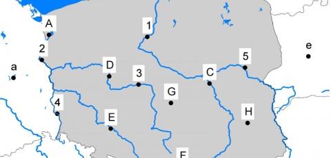 Karten Zu Polen Polen In Der Schule